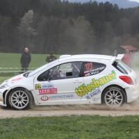 Lavanttal Rallye 2014 Peugeot 207 S2000 Hannes Danzinger Barbara Watzl SP 11