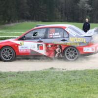 Lavanttal Rallye 2014 Mitsubishi Lancer EVO IX R4 Andreas Mörtl SP 11