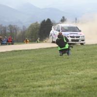 Lavanttal Rallye 2014 Mitsubishi Lancer EVO IX Jani Trcek SP 11
