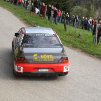 Lavanttal Rallye 2014 Mitsubishi Lancer EVO IX R4 Andreas Mörtl SP 5