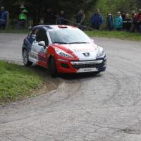 Lavanttal Rallye 2014 Peugeot 207 R3T Alois Handler Andreas Scherz SP 5