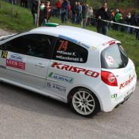 Lavanttal Rallye 2014 Renault Clio R3 Kristof Klausz SP 5