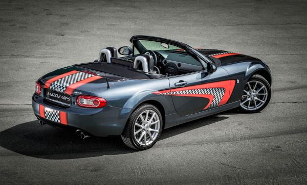 Mazda MX5 Cabrio oben offen ohne DriftChallenge