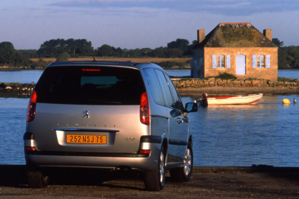 Peugeot 807 Heck