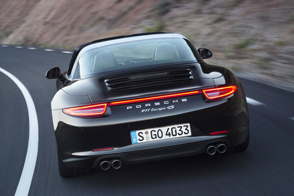 Porsche 911 Targa Heck