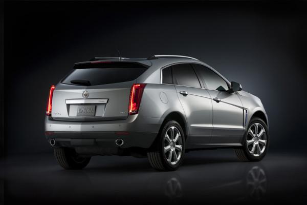 Cadillac SRX Heck