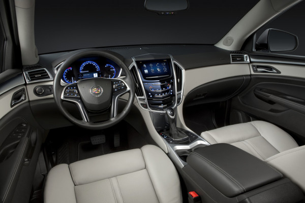 Cadillac SRX Innenraum