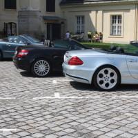 Mercedes-Benz SL Treffen 2014 Laxenburg