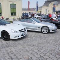 Mercedes-Benz SL Treffen 2014 Schloss Laxenburg