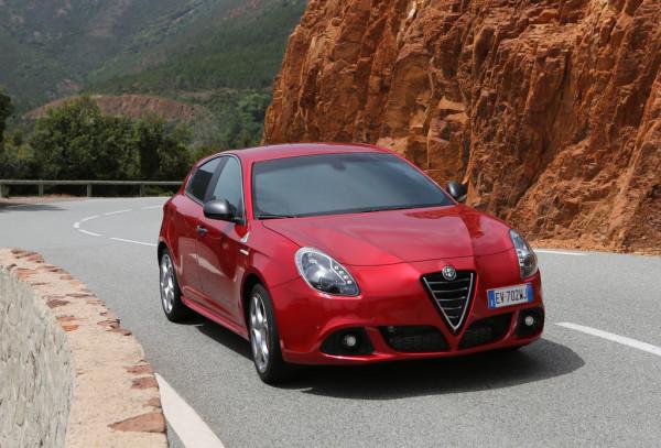 Alfa Romeo Giulietta Quadrifoglio Verde Front