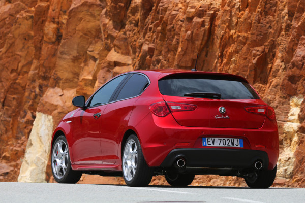 Alfa Romeo Giulietta Quadrifoglio Verde Heck