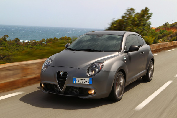Alfa Romeo Mito Quadrifoglia Verde Seite