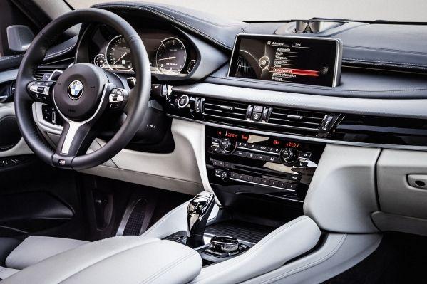 Der neue BMW X6  Innenraum, Exclusivleder Nappa, erweitert Elfenbeinweiß Interieurdesign Pure Extravagance Elfenbein