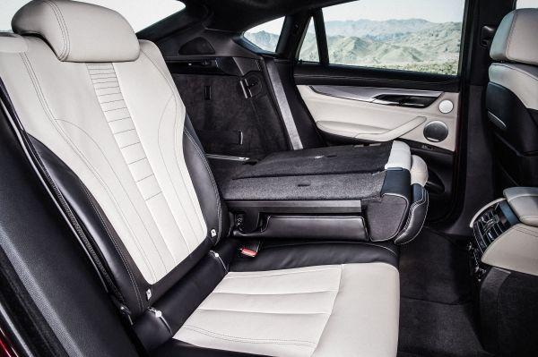 Der neue BMW X6  Innenraum Sitze Exclusivleder Nappa, erweitert Elfenbeinweiß  Interieurdesign Pure Extravagance Elfenbein