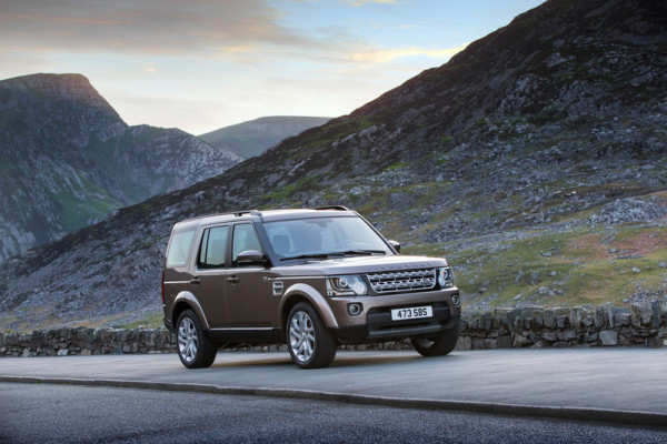 Land Rover Discovery Front Seite