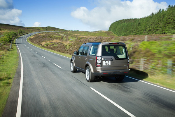 Land Rover Discovery Heck