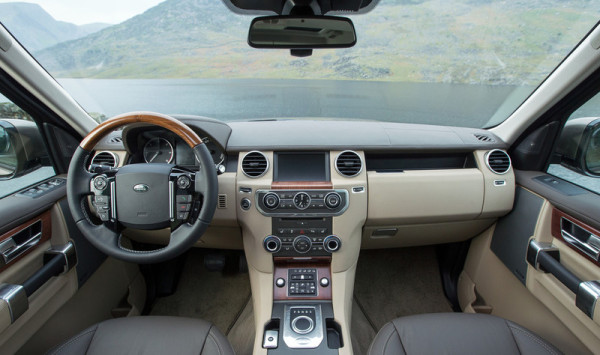 Land Rover Discovery Innenraum