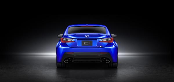 Lexus-RC-F-Heck