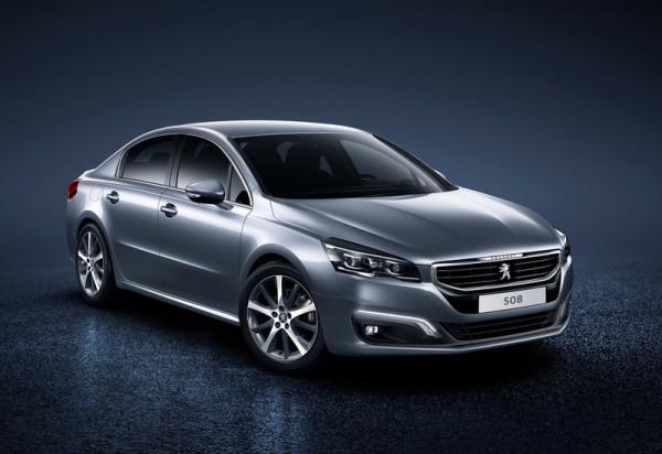 Peugeot 508 Front