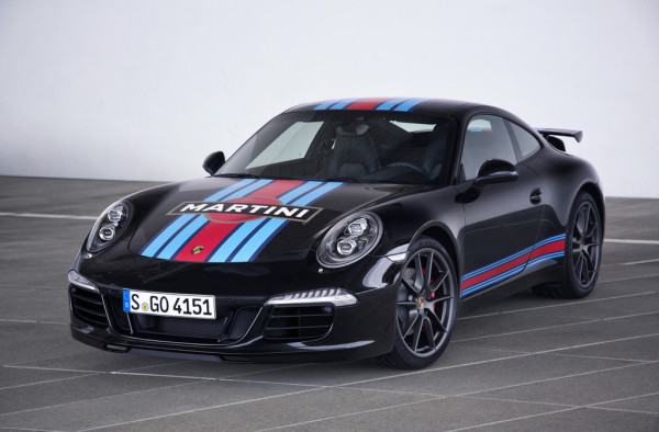 Porsche 911 Carrera S Martini Racing Edition schwarz
