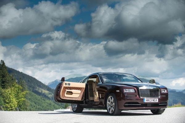 Rolls-Royce Luxus Coupe Wraith