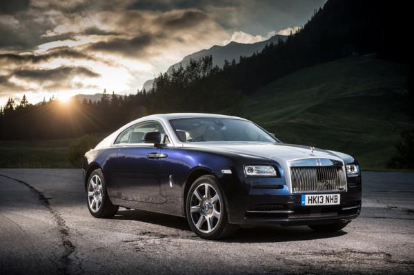 Rolls-Royce zweitürige Luxus Coupe Wraith