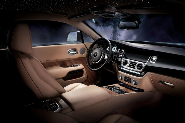 Rolls-Royce zweitürige Luxus Coupe Wraith Innenraum