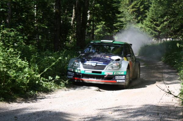 Fotos und Videos Schneebergland Rallye 2014 SP 8