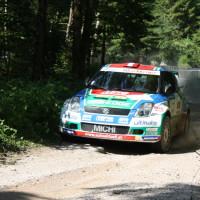 Schneebergland Rallye 2014 Suzuki Swift S1600 Michael Böhm