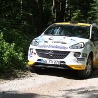 Schneebergland Rallye 2014 Opel Adam Daniel Wollinger