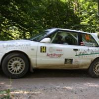 Schneebergland Rallye 2014 Mazda 323 GTR Michael Reischer