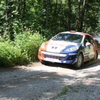 Schneebergland Rallye 2014 Peugeot 207 RC R3T Alois Handler Andreas Scherz