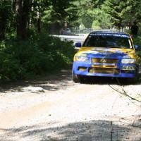 Schneebergland Rallye 2014 Mitsubishi Lancer EVO VII Dr. Marius Klein