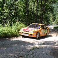 Schneebergland Rallye 2014 Mitsubishi Lancer EVO III Gerhard Hajszan