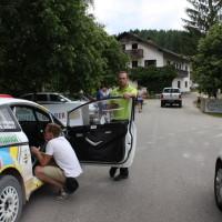 Schneebergland Rallye 2014 Gerwald Grössing Siggi Schwarz Ford Fiesta R5 Service Hermann Neubauer
