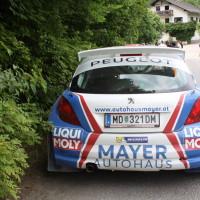 Schneebergland Rallye 2014 Peugeot 207 S2000 Walter Mayer Service
