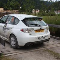 Schneebergland Rallye 2014 Subaru WRX STI N16 Robert Zitta Service