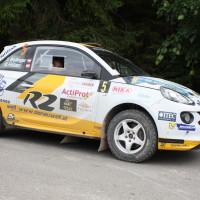 Schneebergland Rallye 2014 Opel Adam Daniel Wollinger Service