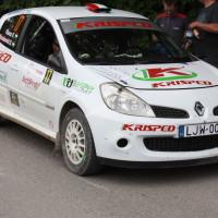 Schneebergland Rallye 2014 Renault Clio R3 Kristof Klausz Service