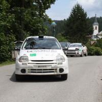 Schneebergland Rallye 2014 Renault Clio RS Martin Jakubowics Service