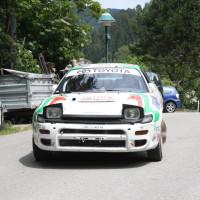 Schneebergland Rallye 2014 Toyota Celica Herbert Weingartner Service