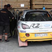 Schneebergland Rallye 2014 Opel Adam Daniel Wollinger Service Willi Stengg