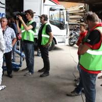 Schneebergland Rallye 2014 Andreas Aigner ORF Kamera Interview Service
