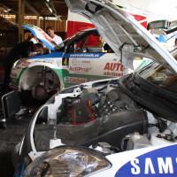 Schneebergland Rallye 2014 Suzuki Swift S1600 Andreas Aigner Service Michael Böhm