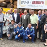 Schneebergland Rallye 2014 Sponsoren Organisation Rallye Fahrer Beifahrer Rohr im Gebirge