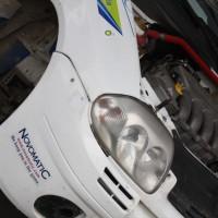 Schneebergland Rallye 2014 Renault Clio RS Martin Jakubowics Service Motor
