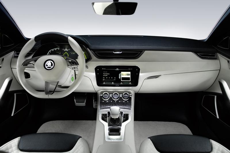 Skoda design studie visionc faszination autos for Innenraum designer