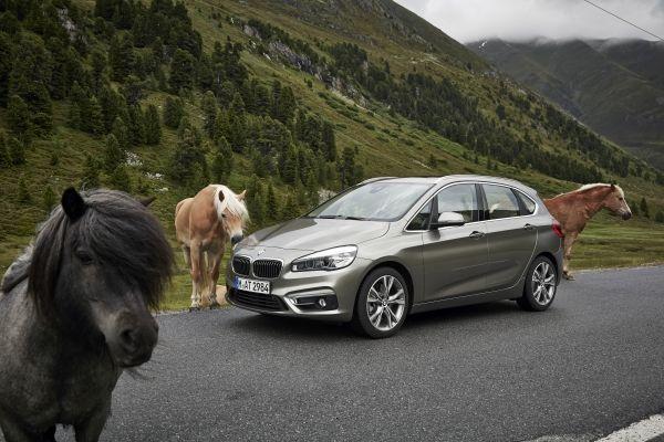 BMW 2er Active Tourer Pferde