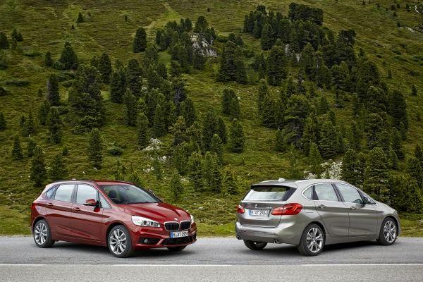 BMW 2er Active Tourer vorne und hinten