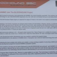 Bloodhound SSC Castrol 0012